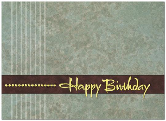 Corporate Happy BirthdayA110UX – Corporate Birthday Greetings