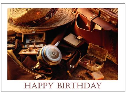 Happy birthday fishing for Fishing birthday wishes