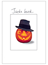 Jack-o-latern and hat